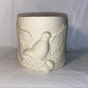 Lenox radiant light dove candle holder